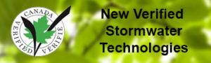 verified stormwater technologies